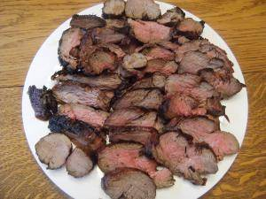 Get the recipe for a delicious bourbon soaked beef tenderloin from comfortablydomestic.com