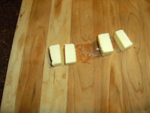 slicing butter for popovers - 2