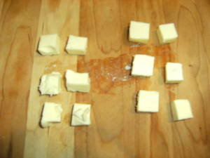 cubing butter for popovers
