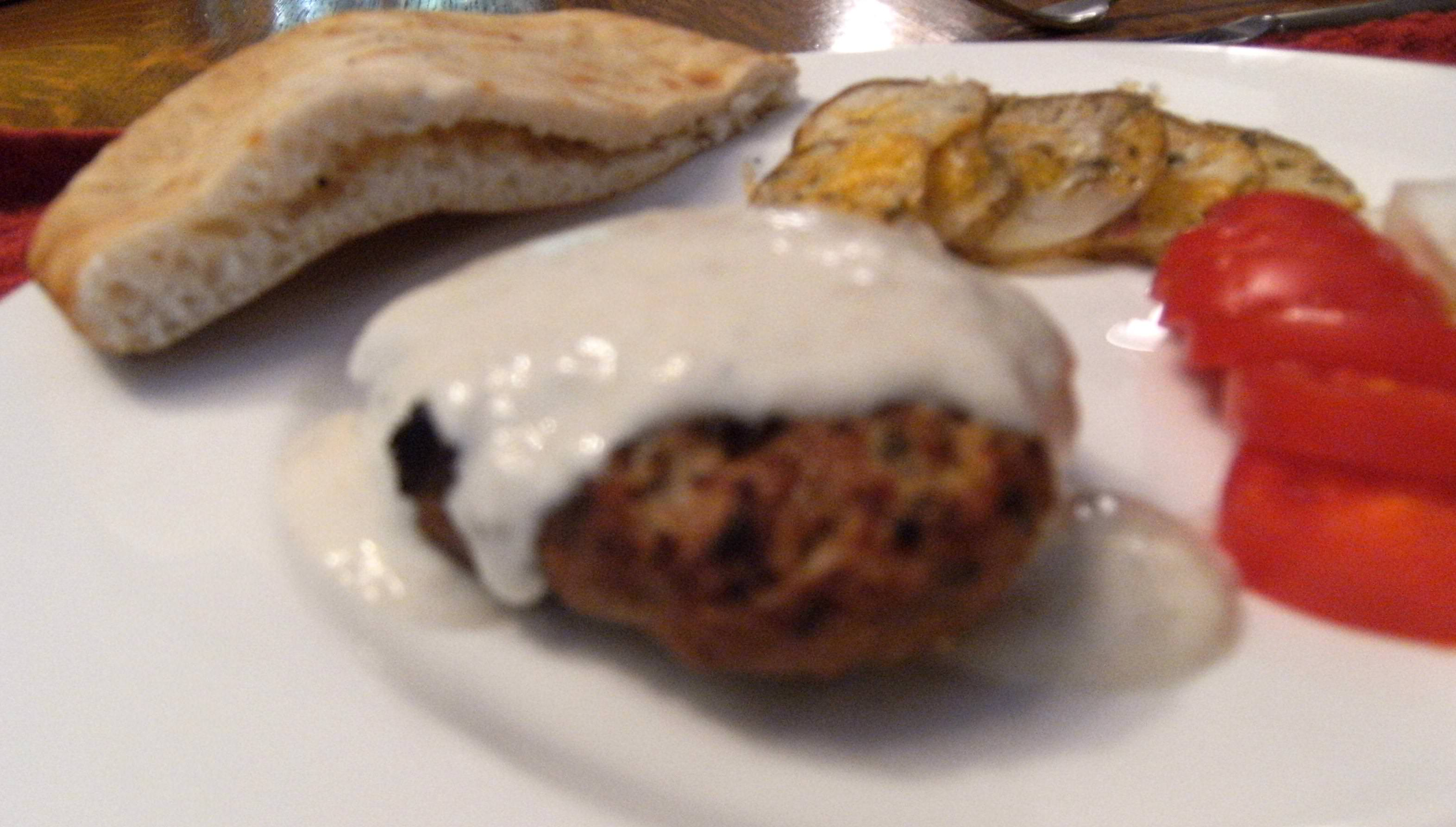 Kafta (also spelled Kofta or Kufta) is an ethnic dish made from any of a variety of ground meats. Primarily, lamb, pork or beef are used. Get the recipe to make Kafta with Tahini Yogurt Sauce on ComfortablyDomestic.com