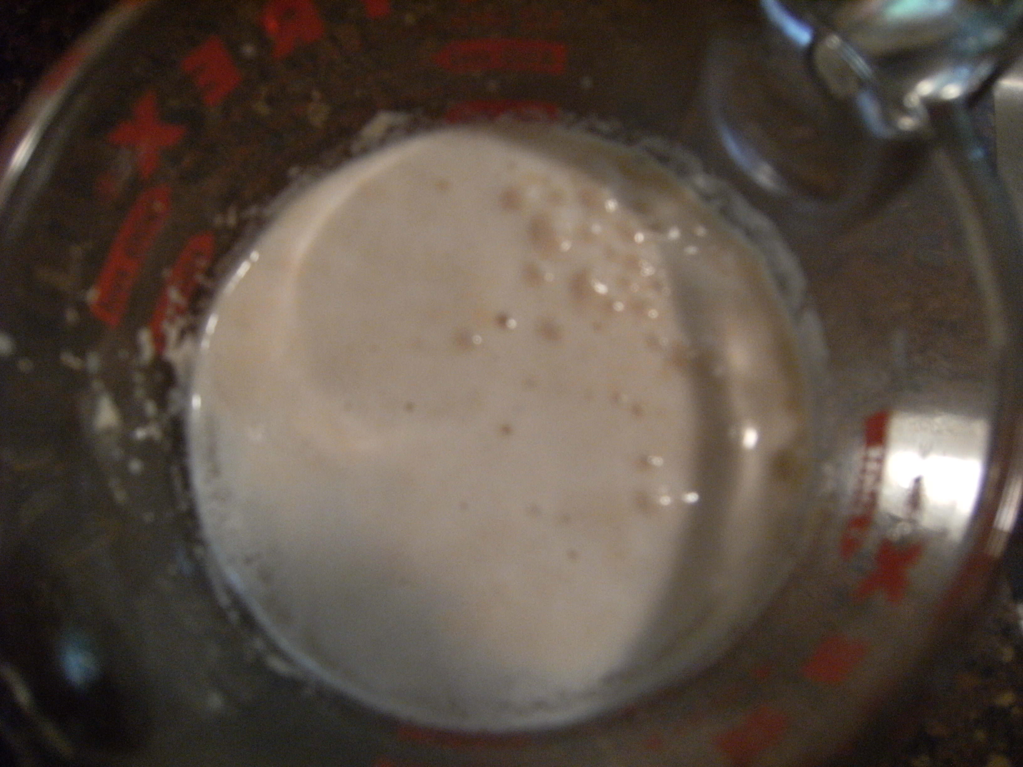 blooming yeast for homemade pizza dough