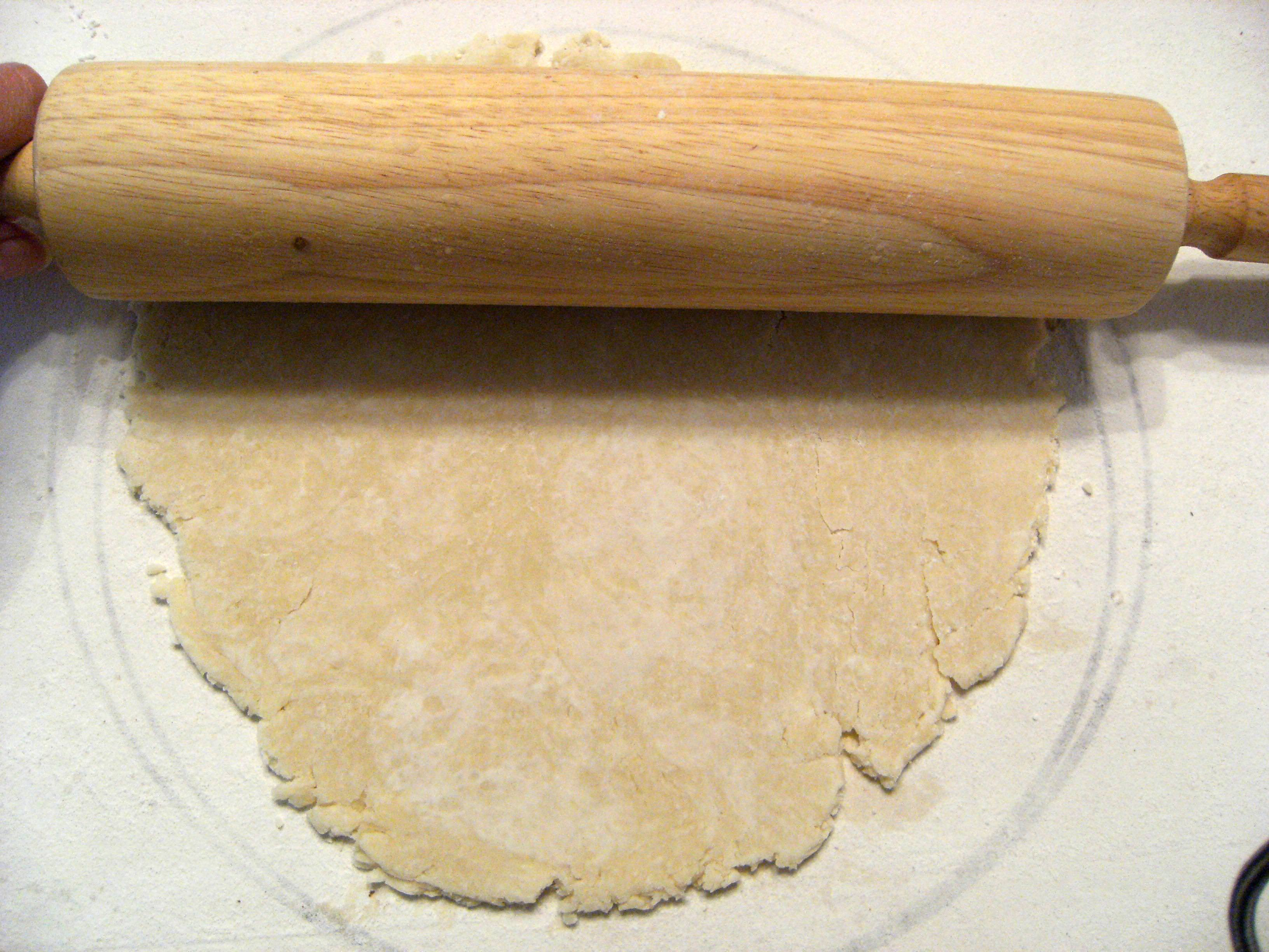 how to make homemade pie crust - step 17
