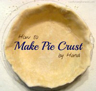 Anyone can learn how to make homemade pie crust by following a few easy steps. | Learn how on ComfortablyDomestic.com