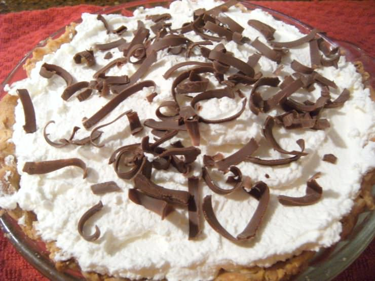 French-Silk-Pie-Semi-Homemade | www.ComfortablyDomestic.com