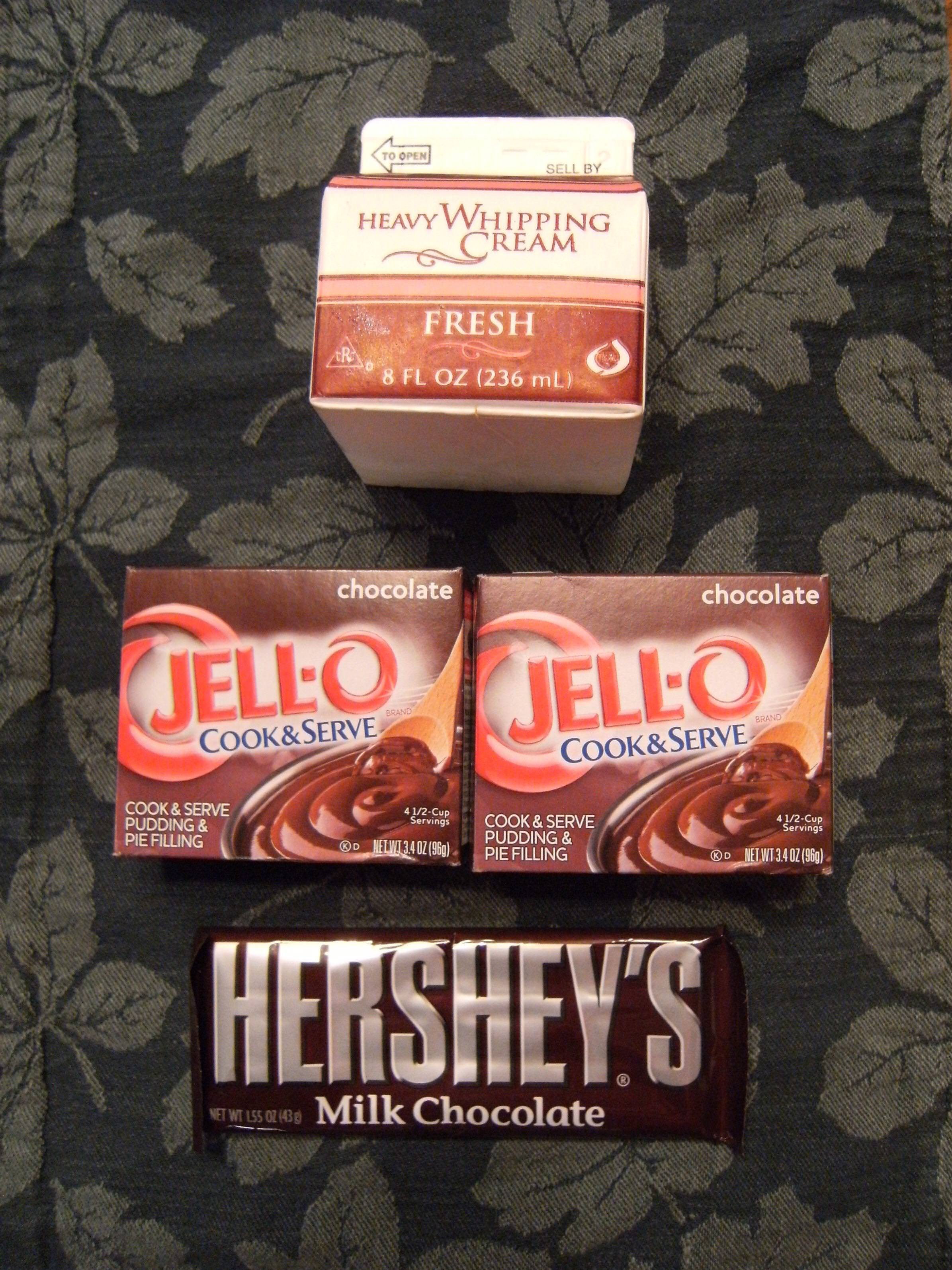French Silk Pie Ingredients