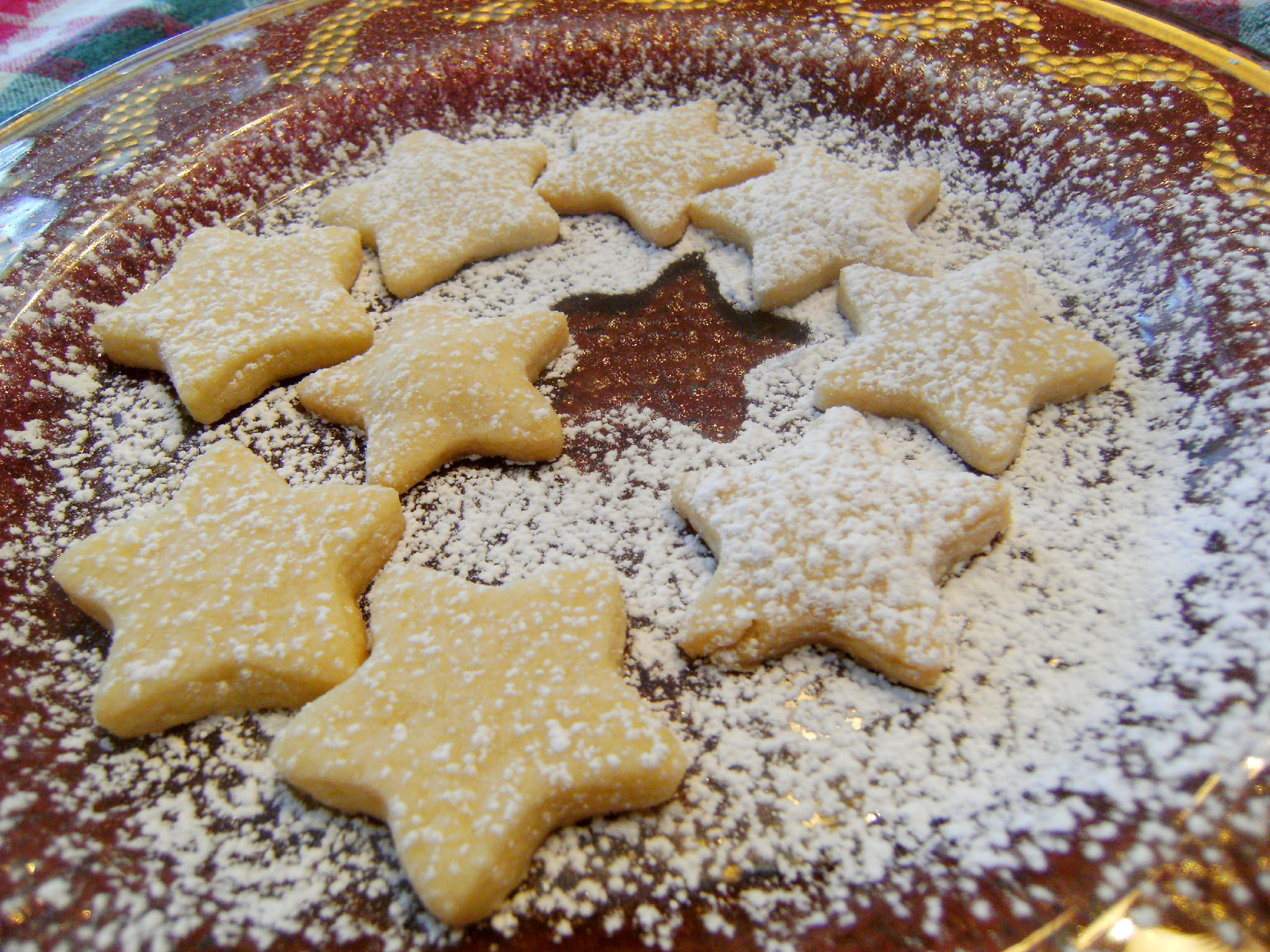 shortbread cut-out cookies