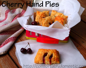 Perfectly Portable Cherry Hand Pies