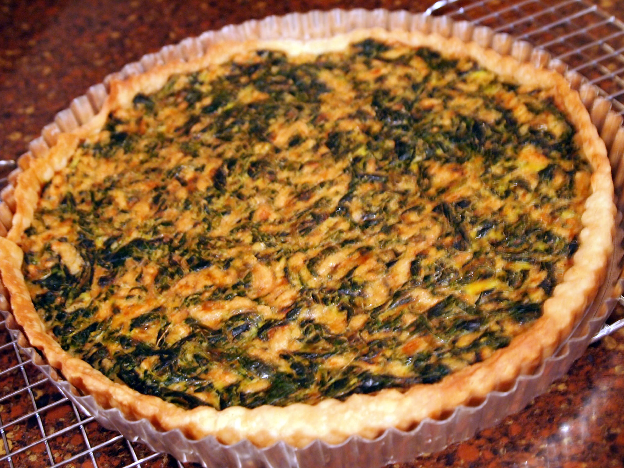 Baked Spinach Tart