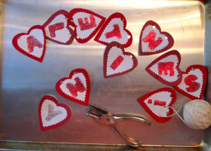 Make these easy Valentine's Day Decorations that are fun and festive.