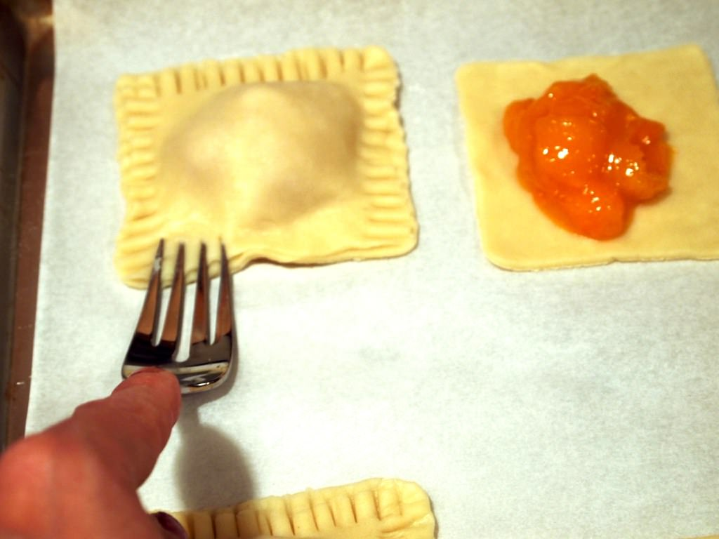 making Gingered Apricot Hand Pies | ComfortablyDomestic.com