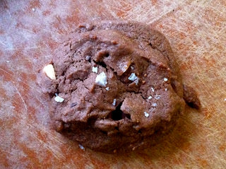 Salted Double Chocolate Peanut Butter Cookies, from Madeline at Munching in the Mitten.