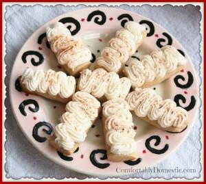 Egg Nog Cookies (Egg Nog Logs) - The perfect Christmas cookie recipe! | ComfortablyDomestic.com