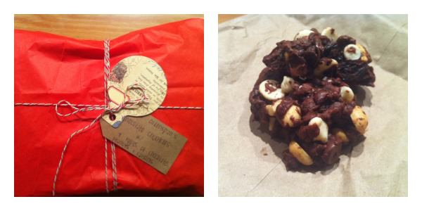 Dorie Greenspan's Chocolate Chunkers Cookie Recipe, from Munching in the Mitten.