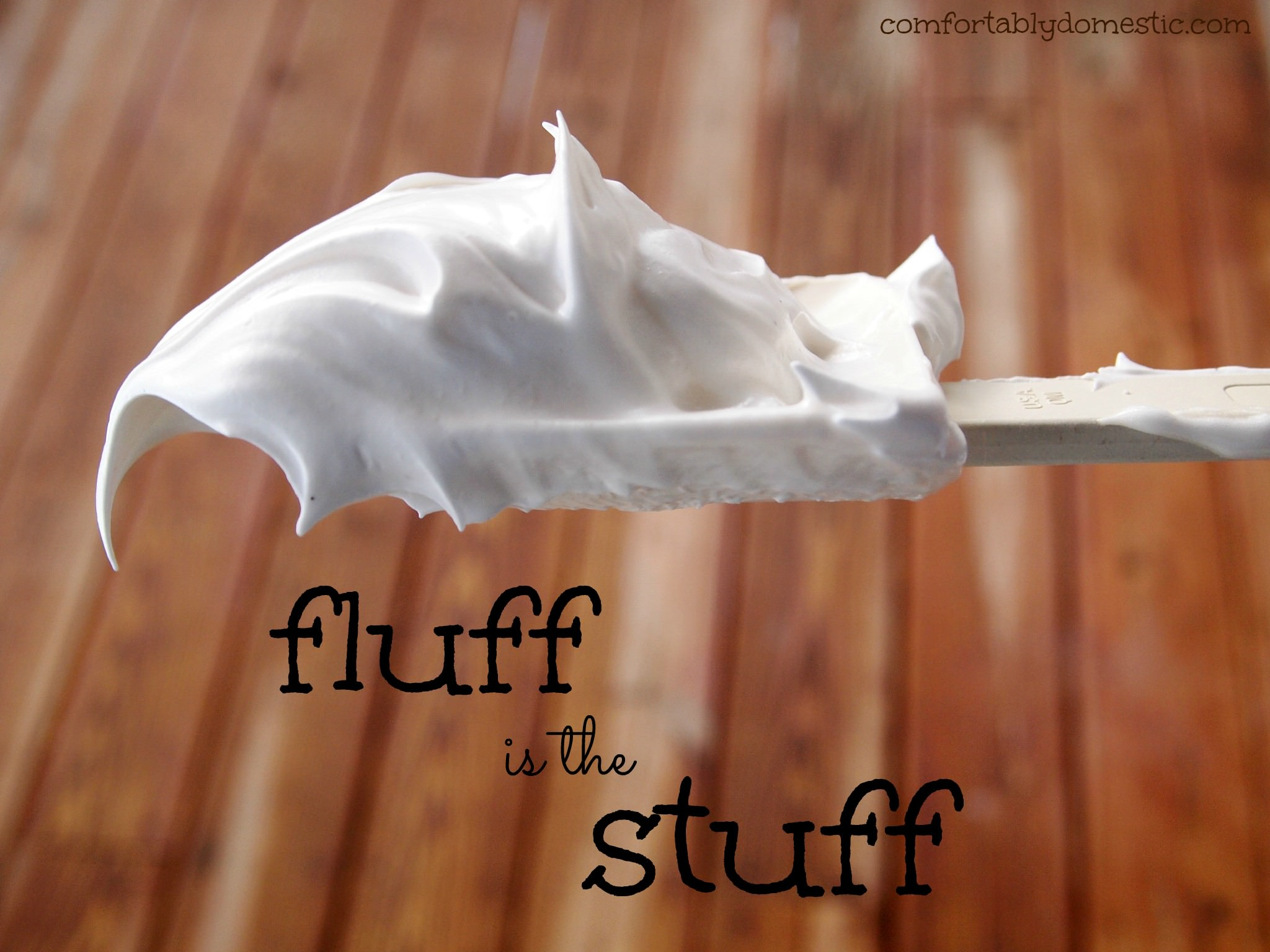 Homemade Marshmallow Fluff | Comfortably Domestic