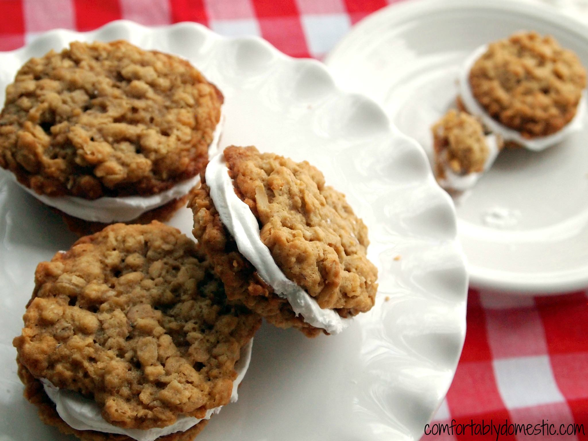 Oatmeal Marshmallow Cream Pies   Comfortably Domestic