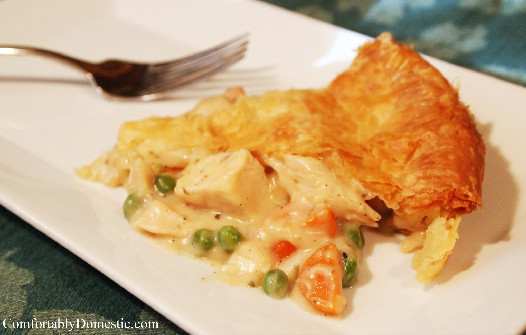 Chicken Pot Pie | ComfortablyDomestic.com
