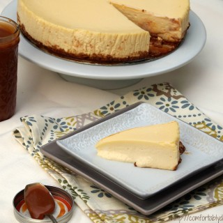 How to make a PERFECT cheesecake, recipe and instructions from ComfortablyDomestic.com - This method results in cheesecake perfection every single time--no cracks, lumps or sunken middles!