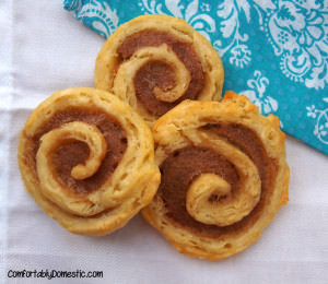 ausage Biscuit Pinwheels from ComfortablyDomestic.com