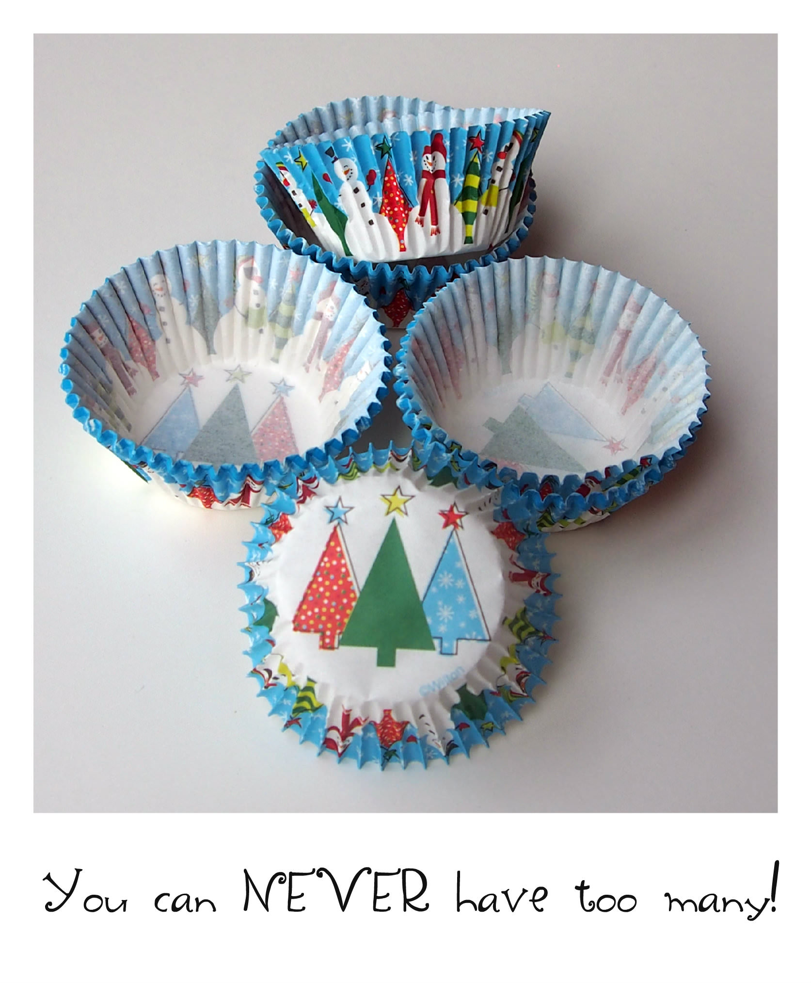 winter cupcake wrappers