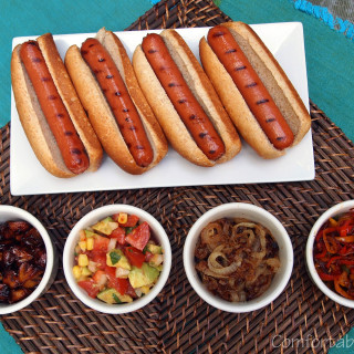 Hot dogs are the all-American treat, deserving of the best hot dog condiments. Doctor up your grilled meats and hot dogs with these delicious homemade condiments. | ComfortablyDomestic.com