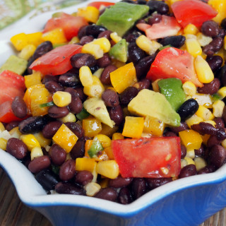 Black Bean and Corn Salad | ComfortablyDomestic.com