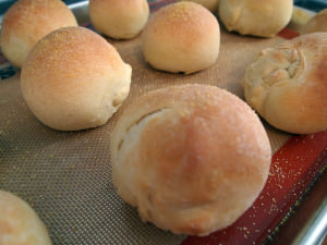One Recipe, Two Ways: Cornmeal Rolls (or Bread)