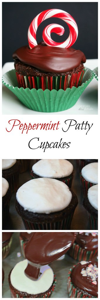 Peppermint Patty Cupcakes | ComfortablyDomestic.com