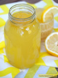 Homemade Lemonade Concentrate (Minute Maid CopyCat Recipe | ComfortablyDomestic.com