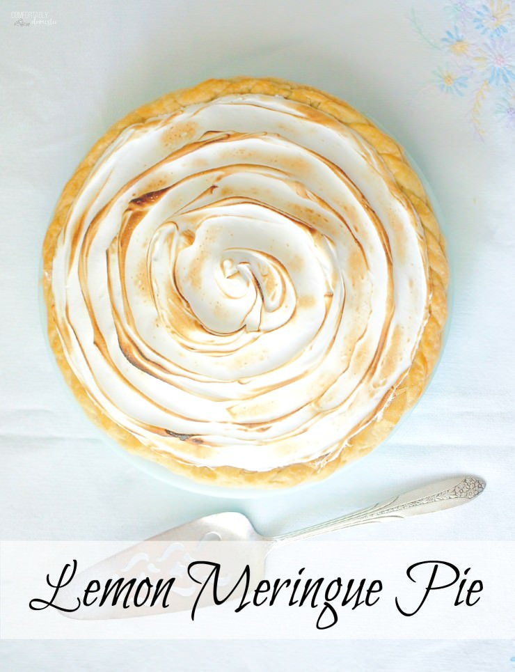 Best-Lemon-Meringue-Pie features exceptionally tangy lemon custard filling topped with toasted sweet meringue, cradled in a golden, buttery crust.