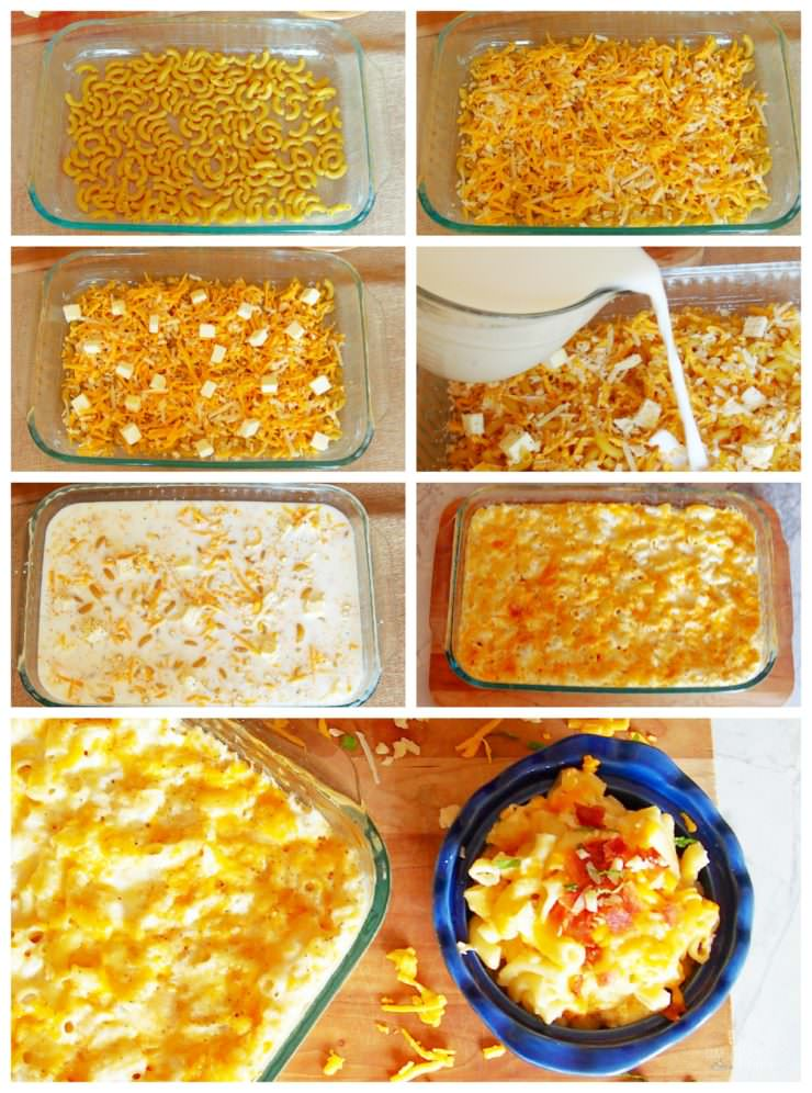 One Pan Macaroni and Cheese makes it a breeze to prepare homemade mac & cheese at home with a no-boil, one pan recipe.
