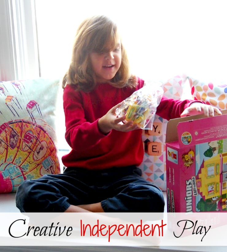 Creative Independent-Play for early elementary age children can be challenging. Finding toys that help foster confidence and independence during playtime is a real blessing.