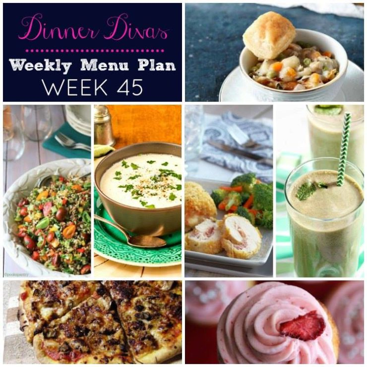 Weekly-Menu-Plan-Week-45 is here with more fresh dinners that are easy to prepare on even the busiest of weeknights.