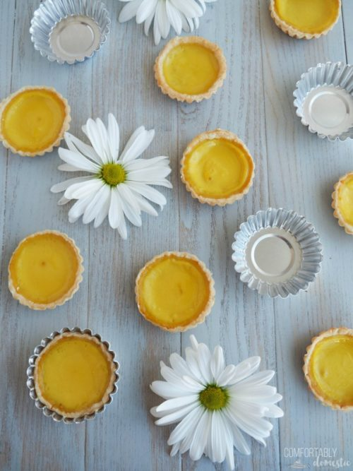 The-Best-Egg-Custard-Tarts are lightly sweet soft egg custard baked in a buttery, flaky crust. Sometimes called Hong Kong Egg tarts, these little two bite wonders are popular throughout Asia, Portugal, and here in the US.