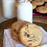 Big-Chocolate-Chip-Cookies are every bit as fabulous as a regular chocolate chip cookie, only better because they're BIG and chewy.