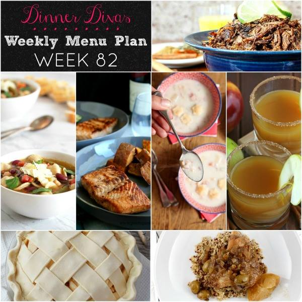weekly-menu-plan-collage-of-dinners