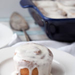Rich and decadent cinnamon rolls with gooey cream cheese icing is like getting a warm hug with every bite.