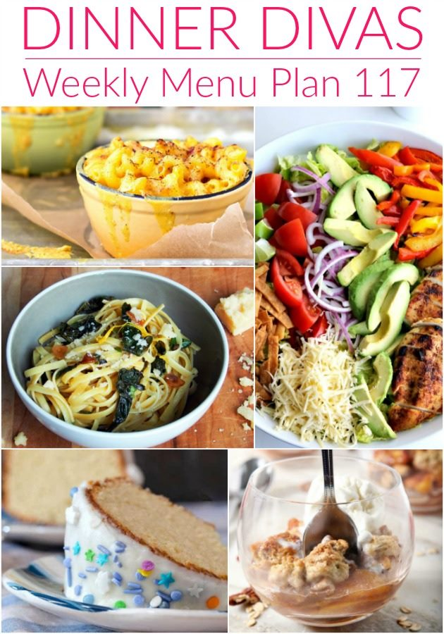Weekly-menu-plan-117-collage-of-dinners
